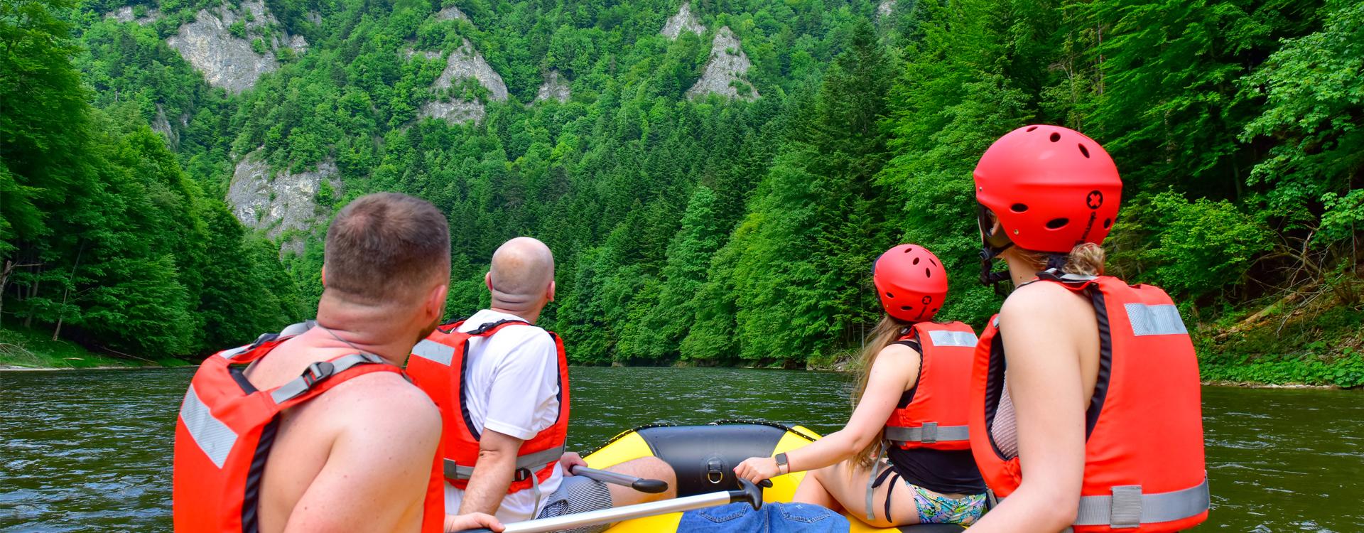 Rafting Je čas na dobrodružstvo